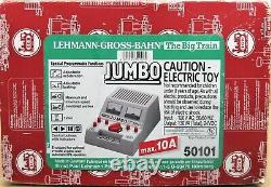 Lgb 50101 Jumbo 10 Amp/130va/24vdc Transformateur Alimentation G-gauge Utilisé