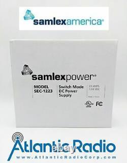 Modèle D'alimentation De Samlex Sec-1223 Mode De Commutateur Alimentation En Courant Continu 23amps 13,8 VDC