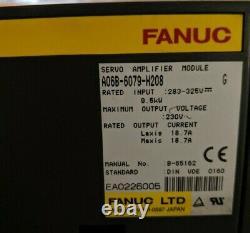 Module D'alimentation Fanuc + Module D'amp Spindle + 3 Amp Servo Axis (voir Desc.)