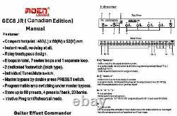 Moen Canada Gec 8 Jr. V3 Effets Looper 8 Loops 80 Prestations Amp Switching 2019