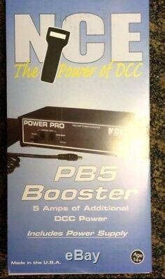 Nce 45 Pb5 5 Amp Power Booster & Alimentation Nce Digitrax DCC Modelrrsupply
