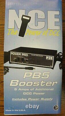 Nce 524-45 Pb5 Pb5 5 Amp Booster Avec Alimentation Yankeedabbler