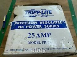 Nouveau In Box Tripp-lite 25amp Precision Regulated DC Power Supply Pr-25