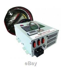 Nouveau Powermax Pbmc-75 75 Amp 12 Volt Chargeur De Batterie D'alimentation
