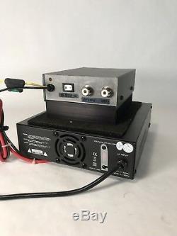 Nouveau Texas Star Dx-2879 350hdv Pilules Cw Amp Avec Amplifier Nouveau 33 Power Amp Supply