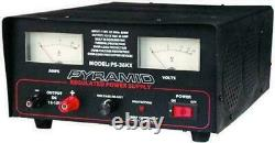Nouvelle Pyramide Ps36kx Heavy Duty 32 Amp Constant Regulated Ac/dc Power Supply