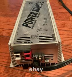 Pc-75 Alimentation 75 Amplificateurs 13,8 VDC Sortie 110 Vac Entrée