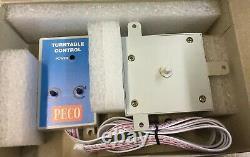 Peco Nb-55+pl-55 Turntable+motor + Gaugemaster Wm5 Alimentation 2 Amps Free Post
