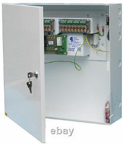 Psu12v8a8oc 12 V @ 8 Amp Unité D'alimentation Avec Batterie De Secours