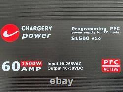 Puissance De Charge S1500 V2.0 60 Amp 1500w 10-30 VDC Alimentation