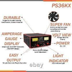 Pyramide Ps36kx Alimentation Électrique 35 Ampères Entièrement Réglementées