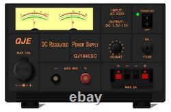 Qje Qj1840sc (40 Amp) Unité D'alimentation Linéaire