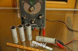 Quad 4pcs Western Electric Ks 13686 125uf 400v Pour We Alimentation Ampli 1950s-60s
