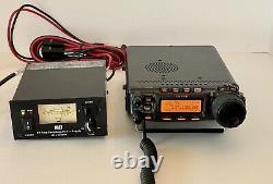 Récepteur Radio Yaesu Ft-857d. Alimentation Mfj 30 Amp. Tuner Mfj Vhf