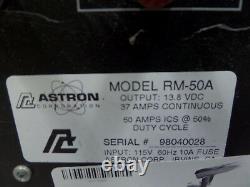 Rm-50a Astron 50 Amp Alimentation Électrique