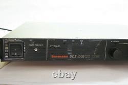 Sorensen Dcs 40-25 (1kw) Alimentation Électrique 40v 25 Ampères Avec Interface Ieee- Voir Notes