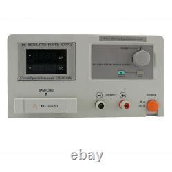 Spécialistes Du Circuit 60 Volt DC 10 Amp Linear Bench Power Supply Item #csi6010x