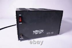Tripp Lite Pr-40 40-amp 12v 13,8v DC Power Supplément Essais, Condition De Travail