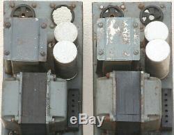 Tube Amplifier Vintage Stereo Amp Alimentation Valve Théâtre Cinema Paire Bbc X2