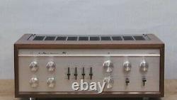 Tube Luxman Sq-38f Amplificateur Intergressé Stéréo Vintage Alimentation En Ampli Audio