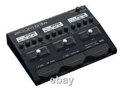 Zoom G3n Guitare Multi Pédale D'effet & Amp Simulator Inbuilt Looper & Alimentation