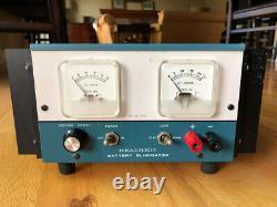 (l427) Modèle Heathkit Ip-2715 Éliminateur De Batterie, 20 Ampères D'alimentation Radio Ham